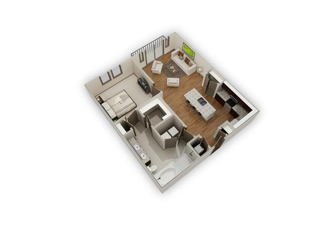 The Lakemont - A11 floor plan.