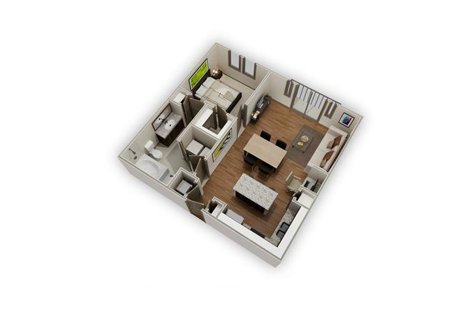 The Leighton - A12 floor plan.