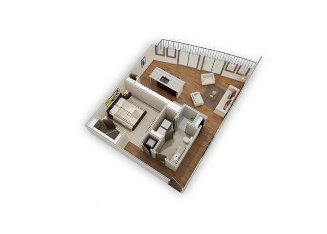 The Madera - A13 floor plan.