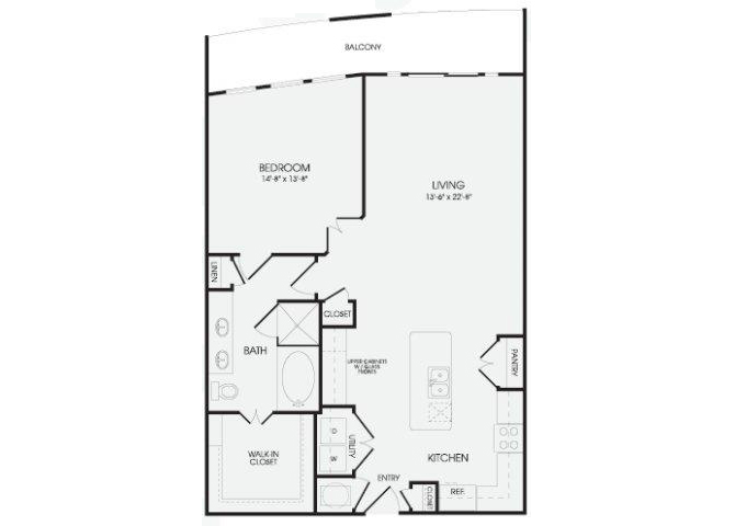 The Madras - A14 floor plan.