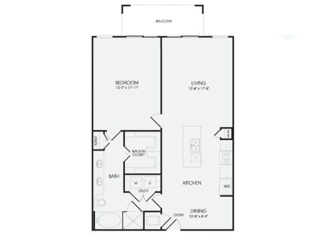 The Maison - A15 floor plan.