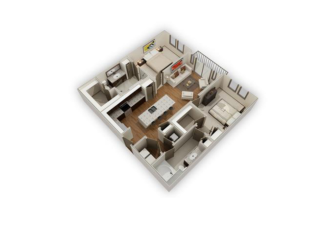The Retreat - B3b floor plan.