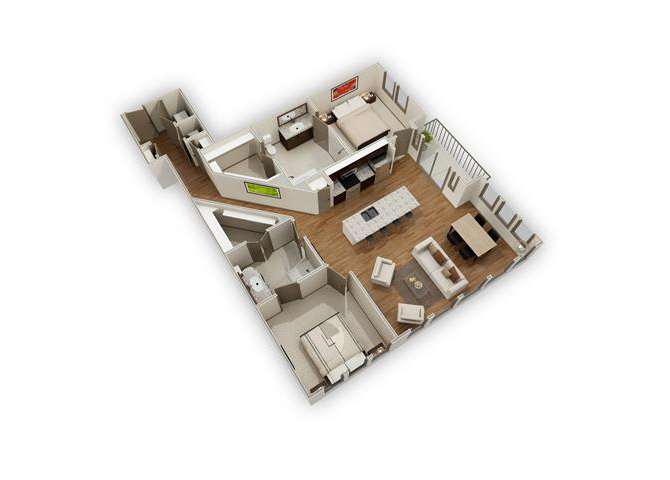 The Sky - B5 floor plan.