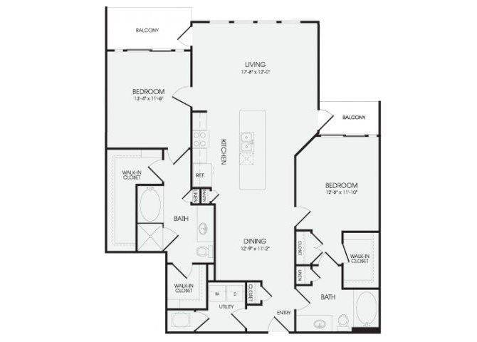 The Thistle - B7 floor plan.