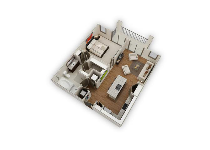 The High Bank - A9 floor plan.