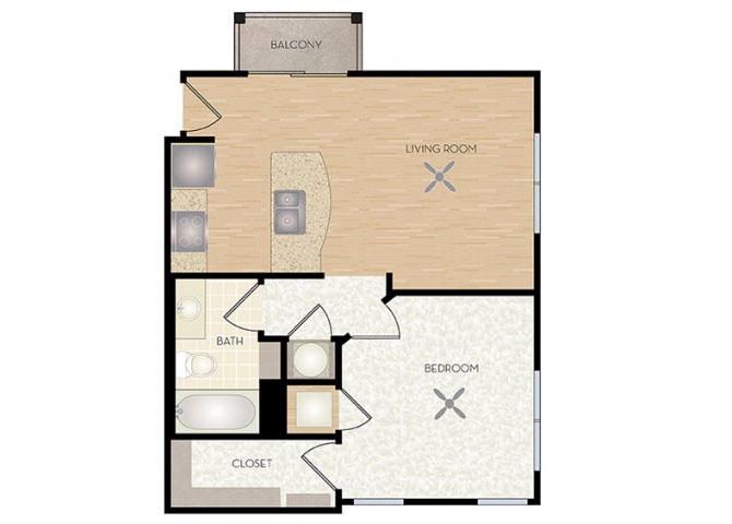 Sunset floor plan.