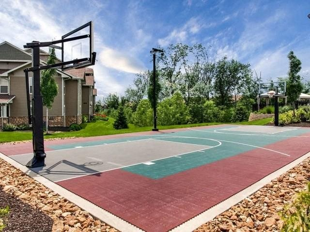 Riverstone Apartments Outdoor Basketball Court