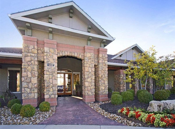 Riverstone Apartments Resident Clubhouse Exterior Entrance