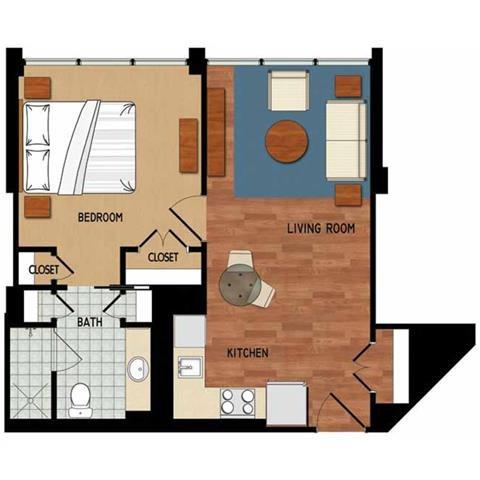 Estero Floorplan Campo Felice – Active 55+ Resort Style Rental Community, Fort Myers, FL