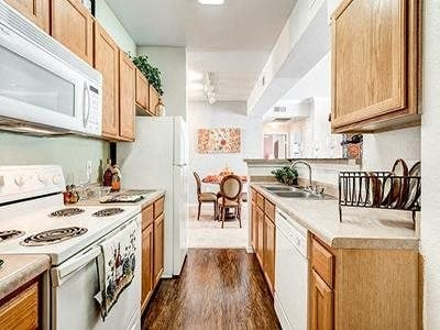 Amenities - Kitchen at Bardin Greene Apartments in Arlington, Texas