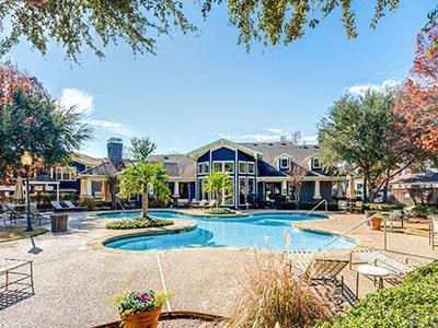 Resort-Style Pool at Bardin Greene, Arlington, Texas