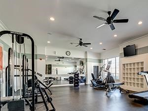 Fitness Center at Lost Spurs Ranch in Roanoke, Texas