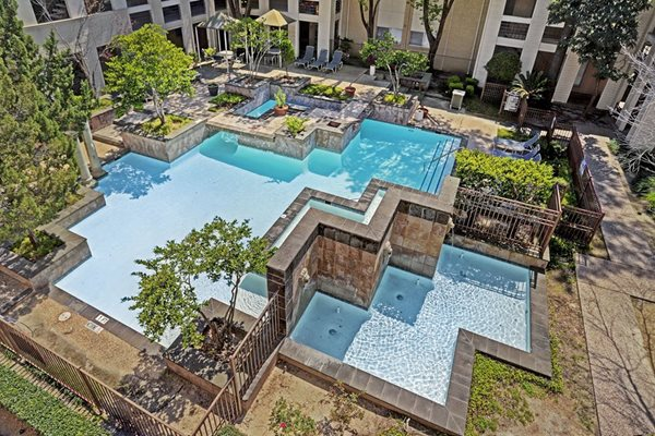 Amenities - Resort-Style Pool at The Village at Bunker Hill Apartments