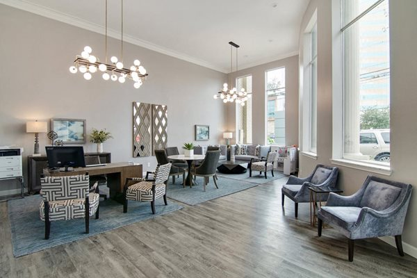 Amenities - Front Office Seating Area