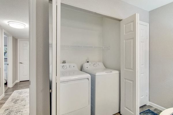 Amenities - Washer and Dryer In-Unit at The Village at Bunker Hill Apartments