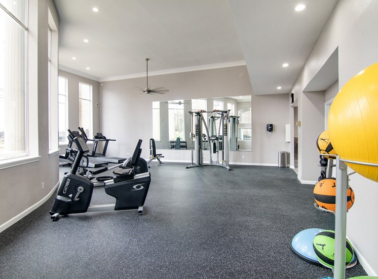 Professional Community Fitness Center at The Village at Bunker Hill in Houston, Texas