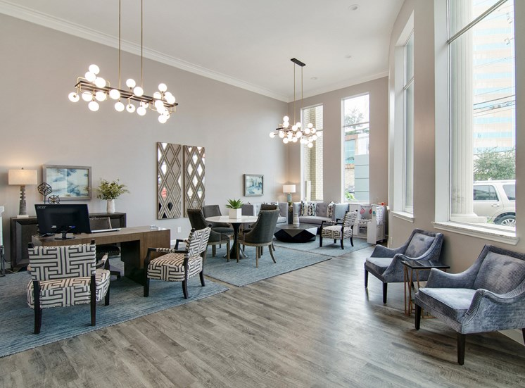 Leasing Office at The Village at Bunker Hill in Houston, Texas