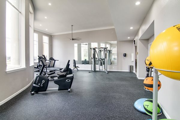 Amenities - Fitness Center at The Village at Bunker Hill Apartments