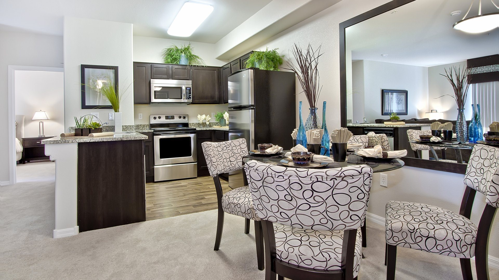 Separate Spaces for Dining at South Blvd, Nevada