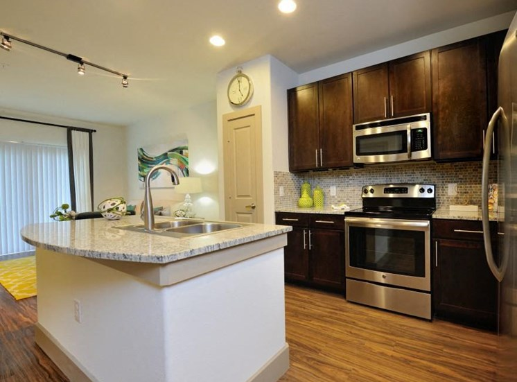 Stainless Steel Appliances at Broadstone Park West Apartments, Texas