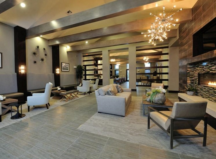 Elegant Clubhouse at Broadstone Park West Apartments, Houston, 77084