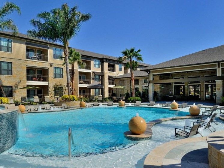 Sparkling Swimming Pool at Broadstone Park West Apartments, Texas