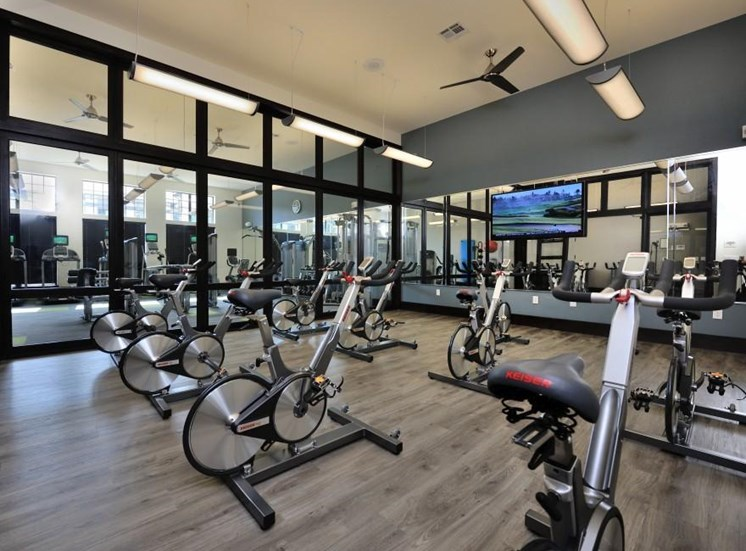 Fitness Center with Updated Equipment at Broadstone Park West Apartments, Houston, 77084