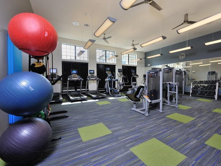 Fully Equipped Fitness Center at Broadstone Park West Apartments, Houston, Texas