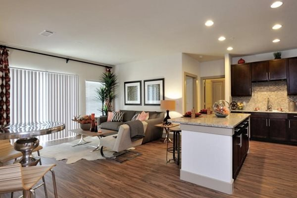 Wood Style Flooring At Broadstone Park West Apartments Houston Tx