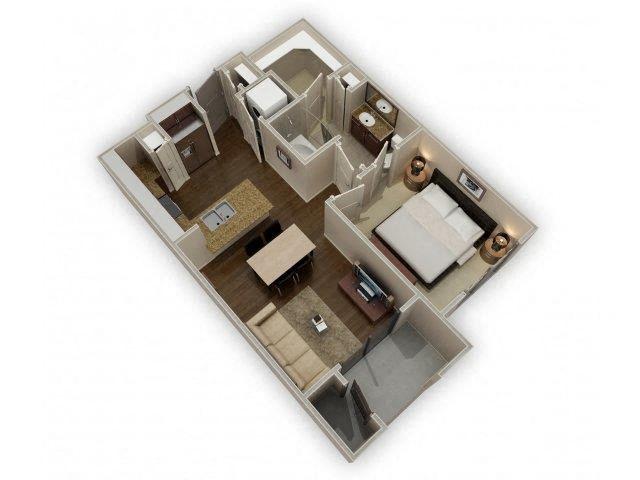 FloorPlan at Broadstone Park West Apartments, Houston, Texas