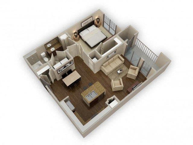 FloorPlan at Broadstone Park West Apartments, Texas