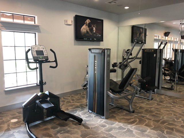 Gym at Boardwalk Med Center, San Antonio, Texas
