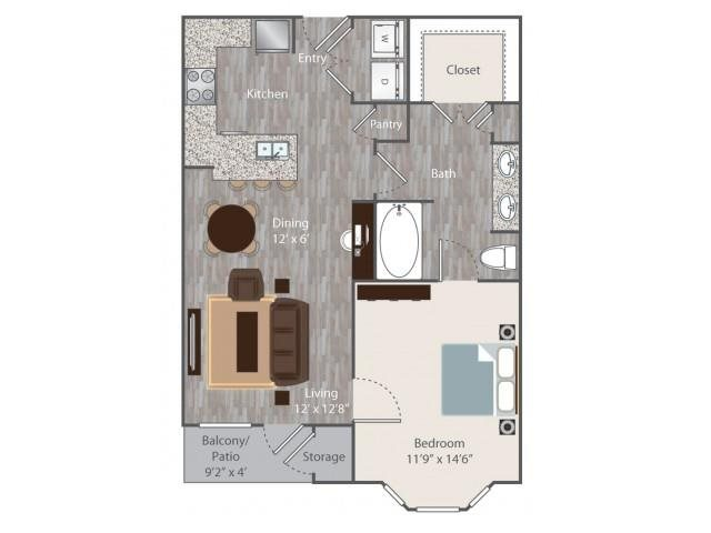 Floorplan at Boardwalk Med Center, Texas, 78240