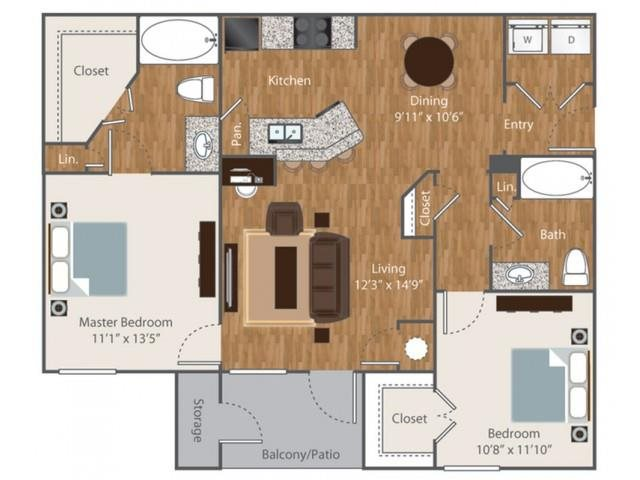 Floorplan at Boardwalk Med Center, San Antonio, TX 78240