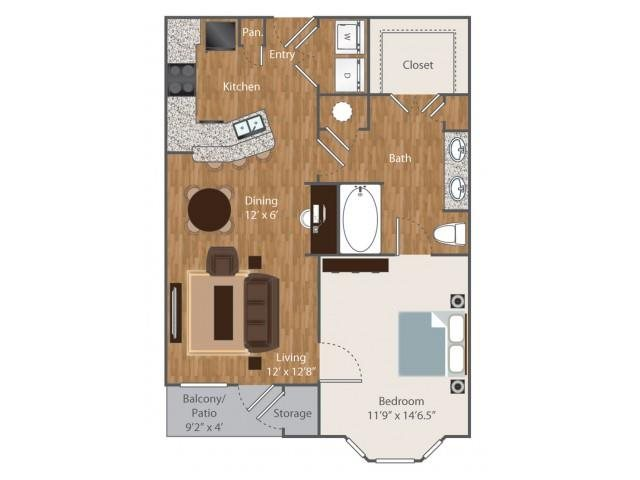 Floorplan at Boardwalk Med Center, Texas