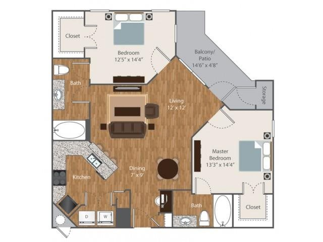 Floorplan at Boardwalk Med Center, San Antonio, 78240