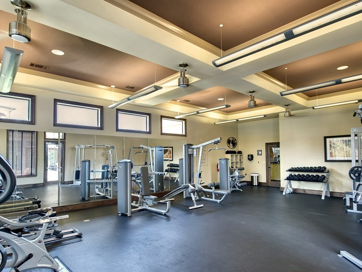 Fitness Center at Palm Valley Apartments, Round Rock, Texas