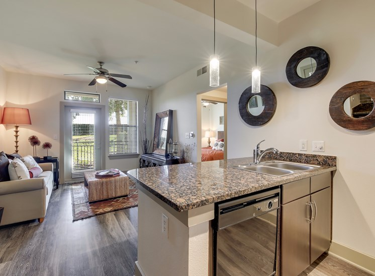 Kitchen with Dishwasher Available at Broadstone Travesia, Austin, 78728