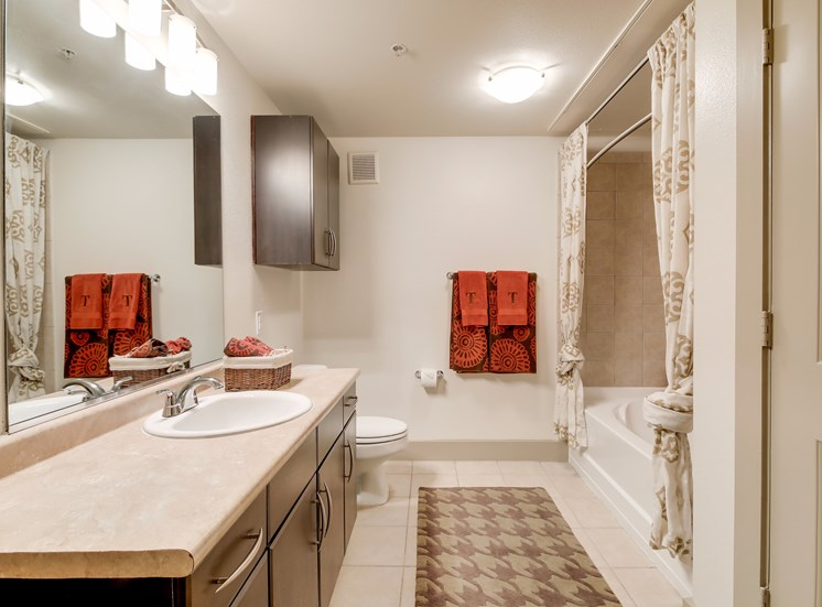 Separate Walk-in Showers in Bath at Broadstone Travesia, Texas