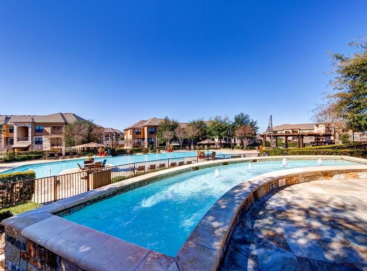 Resort-inspired Swimming Pool at Broadstone Travesia, Austin, Texas