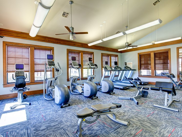 24-Hour Fitness Center at Broadstone Travesia, Austin, Texas