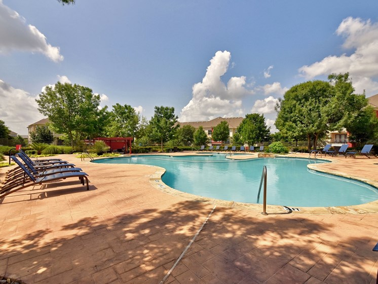 Sparkling Pool at City North, Round Rock, Texas