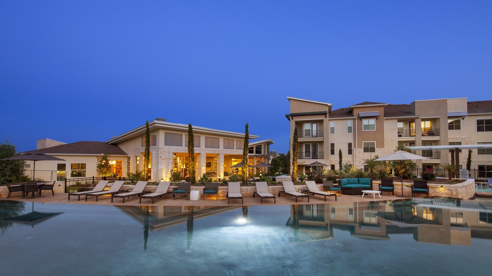 Resort-Style Pool at The Allure, Cedar Park, TX 78613