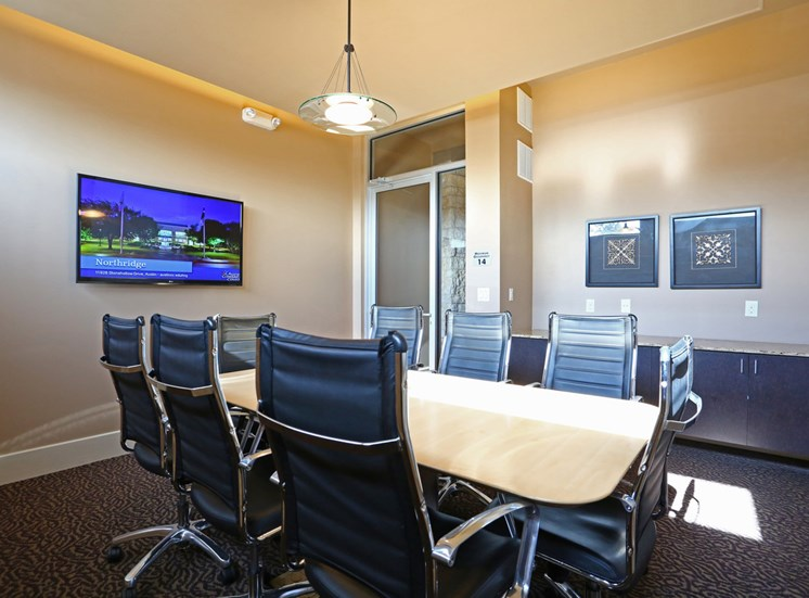 Resident Conference Room at The Allure, Cedar Park, 78613