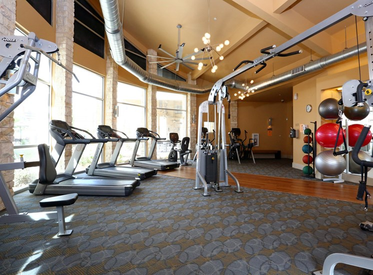 Health and Fitness Center at The Allure, Texas