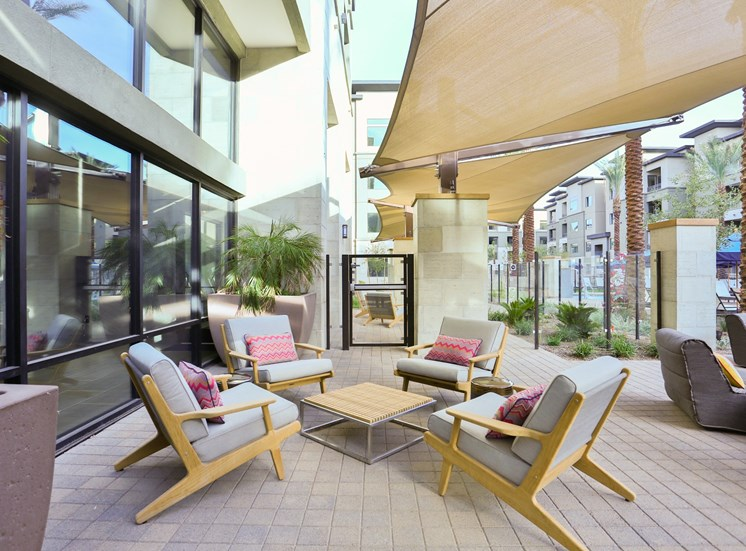 Outdoor Relaxing Lounge at Fashion Center, Chandler, AZ 85226