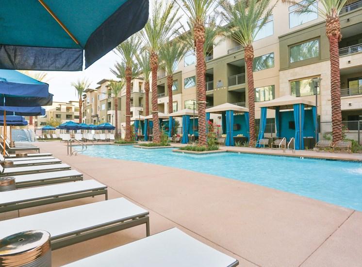 Resort Inspired Pool and Spa at Fashion Center, Chandler, AZ