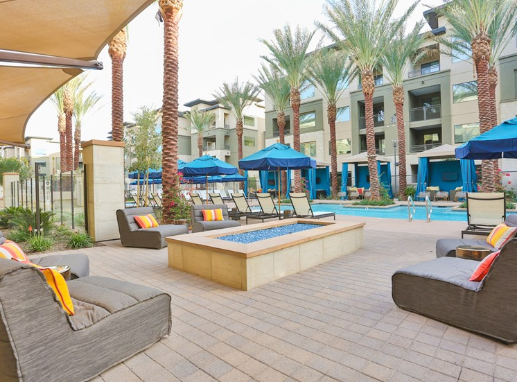 Resort Inspired Pool Featuring Cabana at Fashion Center, Chandler, 85226
