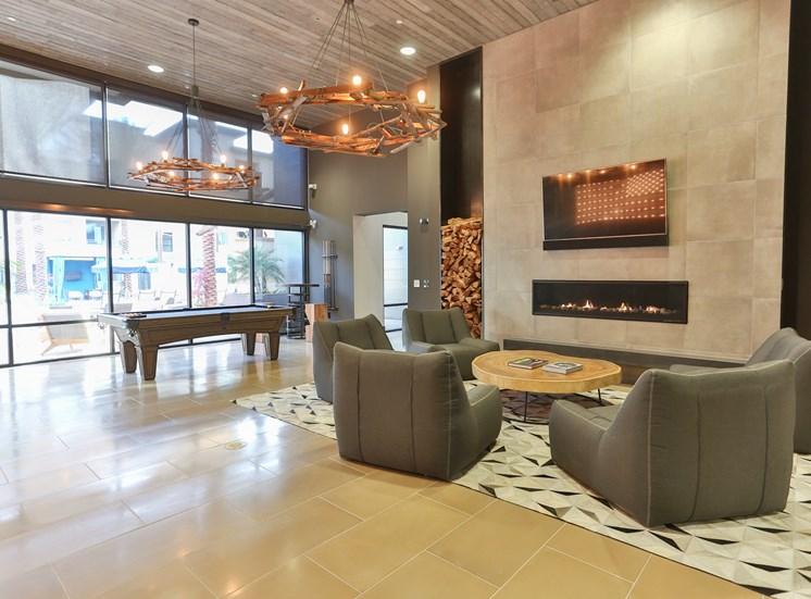 Clubhouse with Designer Lightning at Fashion Center, Arizona