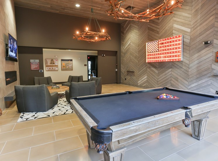 Clubhouse with Billiards Game Room at Fashion Center, Arizona